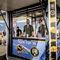 commercial kiosk / newspaper / metal / solar-powered