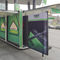 Commercial kiosk / news / metal / solar-powered CUBOX_SALES HBT Energietechnik GmbH