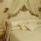 king size bed / queen size / New Baroque design / upholstered