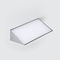 contemporary wall light / sheet steel / painted steel / polycarbonate