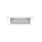 recessed downlight / LED / square / sheet steel