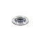 in-ground light fixture / LED / round / curved