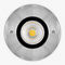 recessed ceiling downlight / outdoor / LED / round