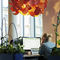 pendant lamp / contemporary / wool / wooden