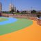 resin flooring / synthetic / for playgrounds / for airports