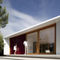 Prefab house / modular / contemporary / wooden frame Mimahousing