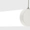 hanging light fixture / LED / tubular / polycarbonate
