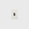 Recessed wall light fixture / LED / square / aluminum FROST Brilumen