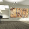 wall-mounted acoustic panel / tempered glass facing / decorative / home