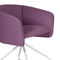 Contemporary office armchair / metal / fabric / swivel BALU' OFFICE by  Emilio Nanni Traba'