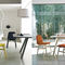 Contemporary chair / velvet / beech / leather BARDOT by Emilio Nanni Traba'