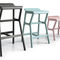 Contemporary bar stool / beech / fabric / synthetic leather NHINO by Emilio Nanni Traba'