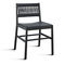 Contemporary chair / fabric / wooden / leather JULIE by Emilio Nanni Traba'