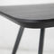 Contemporary side table / MDF / ash AKI SMALL by Emilio Nanni Traba'