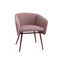 Contemporary chair / beech / fabric / with armrests BALU' MET by Emilio Nanni Traba'
