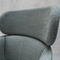 Contemporary armchair / beech / fabric / with footrest BALU' XL by Emilio Nanni Traba'