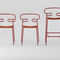 contemporary garden chair / with armrests / stackable / metal