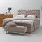 Double bed / traditional / upholstered / with headboard SCARLETT CONTINENTAL Heavens
