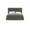 double bed / semi-double / contemporary / upholstered