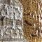 Murano glass decorative panel / wall-mounted / 3D