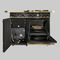 gas range cooker / wood / dual-fuel / cast iron