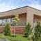 Prefab house / contemporary / glue-laminated wood / energy-efficient FORTUNA 170 Lumi Polar
