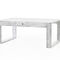 contemporary coffee table / concrete / rectangular