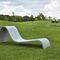 contemporary sun lounger / concrete