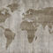 Contemporary wallpaper / fabric / vinyl / map LOST Skinwall