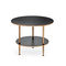 contemporary coffee table / oak / MDF / ash