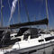 solar protection fabric / plain / polyester / for boats