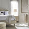 queen size bed / traditional / upholstered / with upholstered headboard