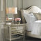 king size bed / queen size / traditional / upholstered