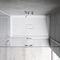 rectangular shower base / composite / non-slip
