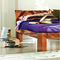 double bed / contemporary / with headboard / oak