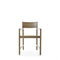 contemporary chair / with armrests / eco-friendly / oak