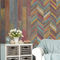 PVC wallcovering / commercial / textured / printed