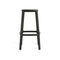 contemporary bar stool / leather / polypropylene / contract