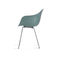 contemporary chair / with armrests / metal / polypropylene