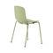 contemporary garden chair / stackable / metal / polypropylene