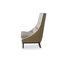 traditional armchair / fabric / beech / solid wood