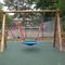 wooden swing / playground / double