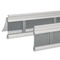 roller shutter / extruded aluminum / window / louvered