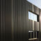 Steel cladding / stainless steel / smooth / ribbed CADENCE CARRE BACACIER 3S