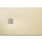 rectangular shower base / stone / extra-flat / non-slip