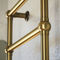 Hot water towel radiator / electric / brass / chrome CATERINA SCIROCCO H