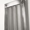 hot water radiator / electric / steel / tempered glass facing