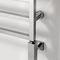 hot water towel radiator / electric / brass / chrome