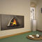 wood-burning fireplace / original design / closed hearth / built-in