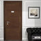 indoor door / swing / solid wood / MDF